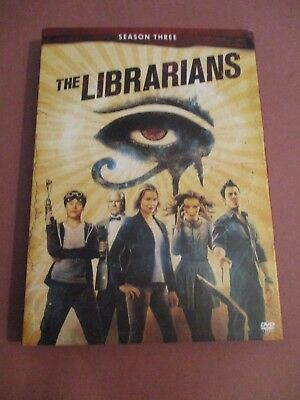 The Librarians: Season Three (DVD, 2017, 3-Disc Set)