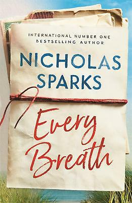 Every Breath by Nicholas Sparks Hardcover Book Free Shipping!
