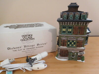 Dept 56 Dickens Village - The Flat of Ebenezer Scrooge