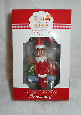 The Elf On The Shelf Boy Scout Doll Christmas Tree Ornament Personalize It New