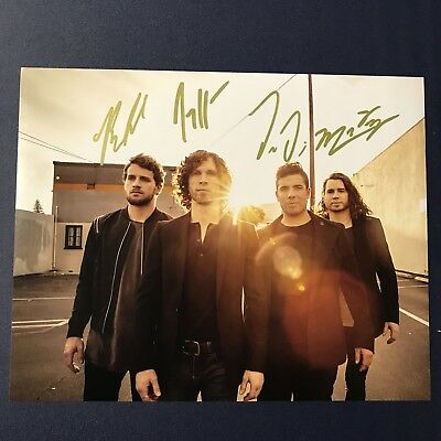 Nothing More Band Signed 8X10 Photo Full Band Autographed Very Rare Rock Hot Coa
