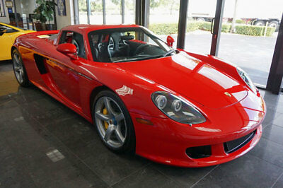 2005 Porsche Carrera GT 2dr Carrera '05 Porsche Carrera GT, 604HP,6 Spd Manual,XWide Seats,Luggage,Carbon Shift Knob