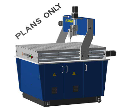 CNC Maxi Router Table. Milling drilling and Engraving DIY Plans Only