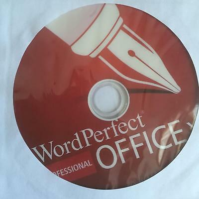 Corel WordPerfect Office X7 Professional DVD with Serial