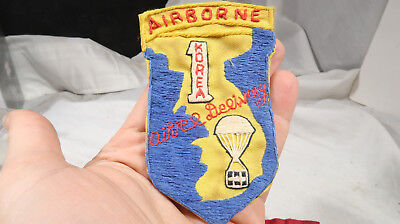 Korean War ERA Patch Theater Made Airborne Air Delivery