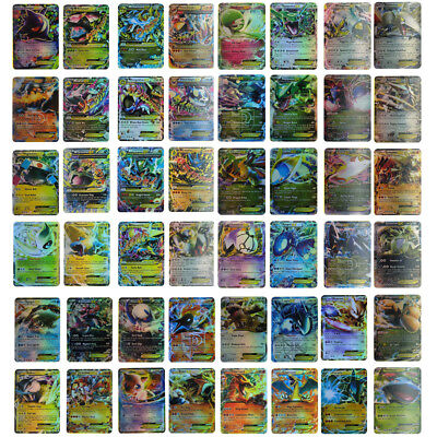Pokemon 100 Flash Card Lot Rare 20 Mega+80 EX Cards No Repeat Gift Kids US STOCK