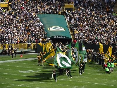 Green Bay  Packers vs Detroit Lions Tickets (2)  December 30, 2018