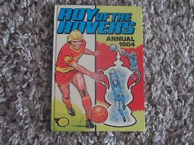 Roy Of The Rovers Annual 1984 Excellent Condition No Faults Except Price Clipped
