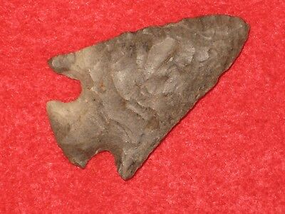 Authentic Native American artifact arrowhead Kentucky Hopewell point B7