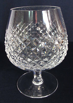 Vintage Waterford Crystal Alana 12 Oz Brandy Glass Snifter, Marked EXCELLENT