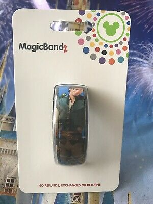 NEW Disney Parks Flynn Rider Maximus Blue Magic Band Link it Later MagicBand