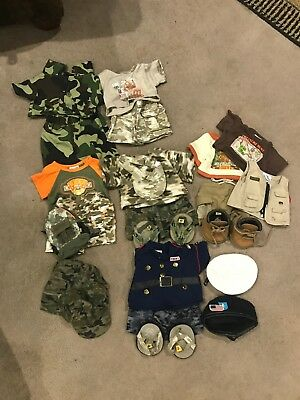 Build a Bear Boys Clothes Lot **ARMY** **CAMO**