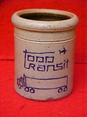 Rockdale Union Stoneware Pottery, Edgerton, Wisconsin - Crock - Todd Transit