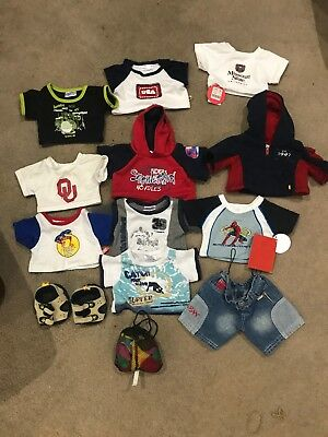Build a Bear Boys Clothes - lot of 10+