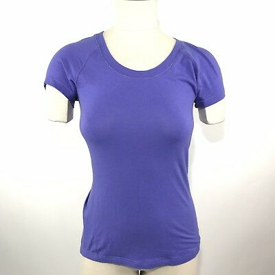 fe7974caf01 Calia by Carrie Underwood T Shirt Size XS Everyday Tee Fitted Purple Top  Stretch