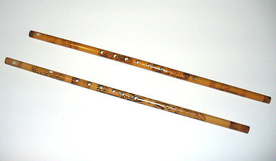 Set of 2 Penny Whistle Flutes, Key of C