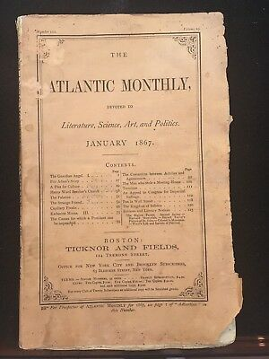 Frederick Douglass' Appeal For Black Suffrage: 1867 Atlantic Monthly Magazine