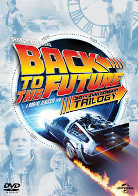 Back To The Future Trilogy - Part 1 / Part 2 / Part 3 Dvd [Uk] New Dvd