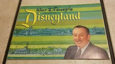 1964 Disneyland Walt Disney's Guide To DISNEYLAND Excellent Condition