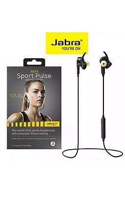 Jabra Sport Pulse Headphones (Special Edition) With In-ear Heart Rate Monitor
