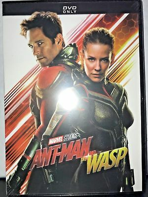 BRAND NEW Ant-Man And The Wasp (DVD 2018) FREE SHIPPING in 24 HRS