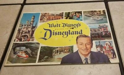 1960 Disneyland Walt Disney's Guide To DISNEYLAND Very Good Condition