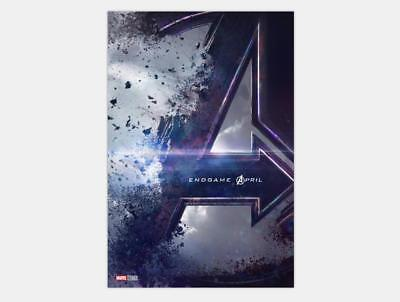 Avengers 4 End Game 2019 Movie Marvel Superheroes Art Poster 12x18 24x36inch 385