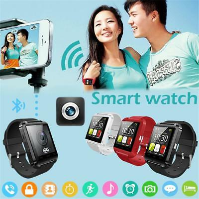 """1.54"""" LCD Smart Watch Bluetooth Wrist Watch For Android Samsung HTC Smart Phones"""