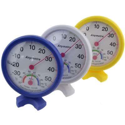 Analog Temperature Humidity Tester Display Thermometers Hygrometer Meters Home