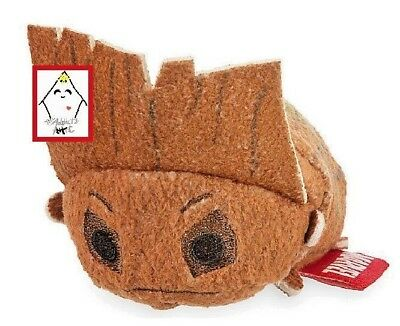 Tsum Tsum GROOT Mini PLUSH Guardians of the Galaxy NWT NEW Stocking Stuffer!