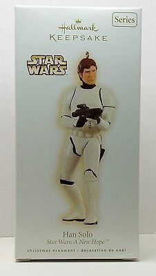 2009 HALLMARK Star Wars A NEW HOPE Series #13 HAN SOLO Imperial Stormtrooper NIB