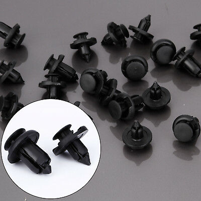 10x 8mm + 10x 10mm Clips rivet capot Garniture Pare-choc retenue Pour Honda