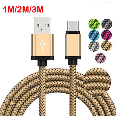 Fast Charging Sync Data Charger Cable Braided for Apple Android Phone Smartphone