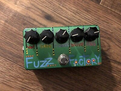 Zvex Fuzz Factory Hand Painted - Laura Bennett 2006 - Rare -Limited Edition