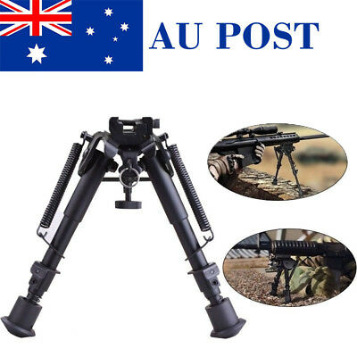"""New 6""""-9"""" Tactical Adjustable Airsoft Bipod Sniper Mount&Adapter For Hunting"""