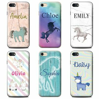 Personalised Handwritten Name Fantasy Unicorn Phone Case For Apple Iphone Cover