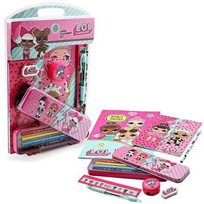 LOL Surprise! Large Stationery Kit for Girls LOL Dolls Series 1 Limited Editi...