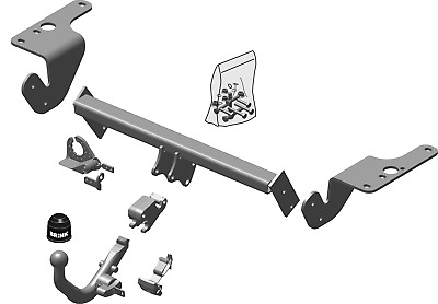 Brink Towbar for Toyota Avensis Estate (T27) 2009-Onwards - Detachable Tow Bar