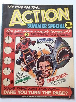 Action - Summer Special - Comic - 1977 Vg-/vg - (Phil Comics)