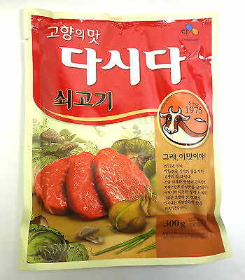CJ DASIDA DASHIDA Korea Beef Soup Stock Bouillon Powder Seasoning Condiment 300g