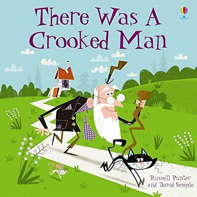 There Was a Crooked Man (Usborne Picture Books) (2.2 First Reading Level Two (M