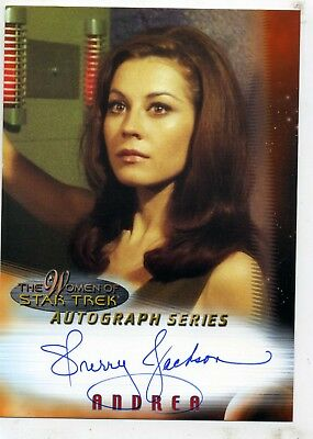 The Women Of Star Trek Autograph Series A2 Sherry Jackson