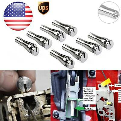 8Pcs Door Handle Latch Cable Ends For Ford  F-150 F-250 F-350 Ranger Ext. Cab US