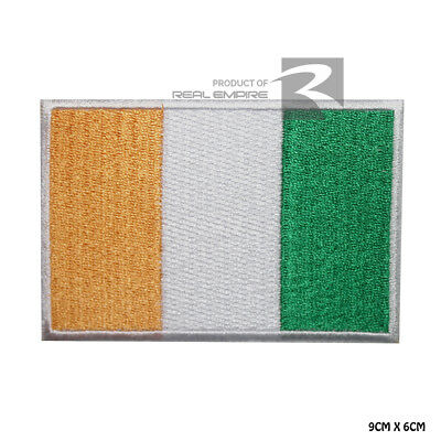 Ireland National Flag Iron on Sew on Embroidered Patch Badge For Clothes Etc