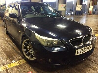 55 Bmw 525D Sport Touring Auto 14 Stamps, Nav, Pan Roof, Leather, Climate, Nice!