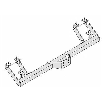 Towbar for Peugeot Boxer Chassis Cab 1994-2006 - Flange Tow Bar