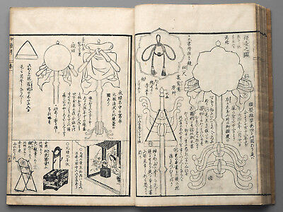 Women's clothing and accessories Japanese antique original woodblock print book