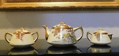 Vintage / Antique Japanese Tea Set And Plates – Absolutely Gorgeous!!