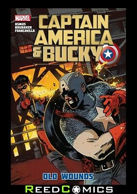 CAPTAIN AMERICA AND BUCKY OLD WOUNDS HARDCOVER Collects Issues #625-628