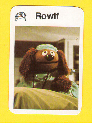 The Muppet Show Jim Henson 1978 German Card Rowlf the Dog Doctor Hospital B